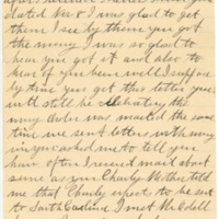 Letter from Alice Kieran to James Kieran, 12-01-1918