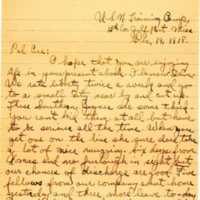 Letter from to James Kieran, 12-19-1918