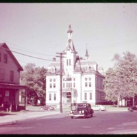Saugus Center Town Hall, Taken June 6, 1948 by S. Smith