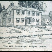 Saugus Center, Main Street, Parsonage