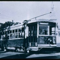Saugus Center, Trolley Car