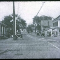 Saugus Center, crossing on Central St