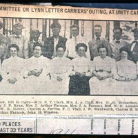 Saugus Center, Letter carriers at Unity Camp