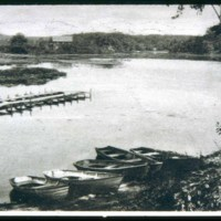 Saugus Center, Lilly Pond, Prankers Pond, Before it was spoiled, dam broken in 1952