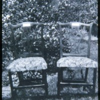 Saugus Center, Parson Roby chairs, Given by Mr. & Mrs. Roland Mansfield