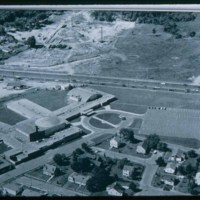 Saugus High School from the air
