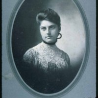 Saugus High School student, Grace Noira, 1905
