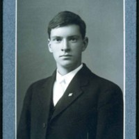 Saugus High School student, Roy Hatch, 1907