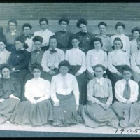 Saugus People at school, 1905
