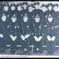 Saugus Police Dept., Chief Roland Mansfield, he was chief 1951