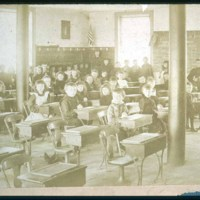 Saugus school class met at old town hall, Oct 1, 1895