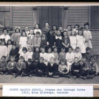 Saugus School Pupils, North Saugus School