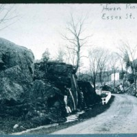 Saugus, Heron Road, Extension of Essex Street, Saugus Melrose line
