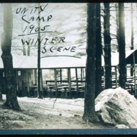 Unity Camp, Saugus, Winter 1905, Denver Street
