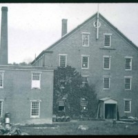 A Scotts Mill, Andrew Scott, Central Street, Saugus, Later Wallace Nutting's