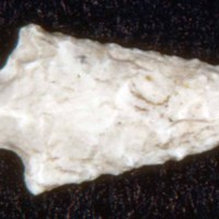 Amos Cutter's Jasper Arrowhead, Found at 239 Central Street