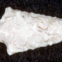 Amos Cutter's White Jasper Arrow Head