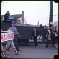 Baseball parade 1966, R. Mansfield with his team
