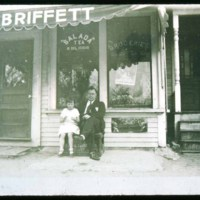 Briffett's Store, On Essex Street near Pleasent Street