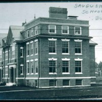 Saugus High School, Winter Street and Central Street, 1906