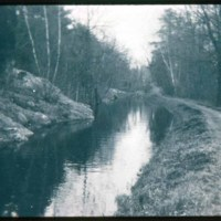 Canal to pond, drinking water, North Saugus