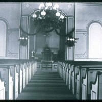 Interior of Congregational Church, Central Street