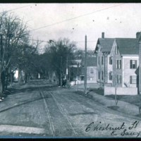 Chestnut Street, East Saugus, one of the early streets