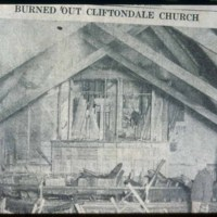 Cliftondale Congregational Church fire