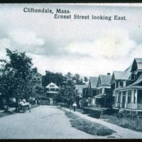 Cliftondale, Mass., Ernest Street looking east