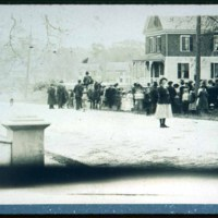 Cliftondale, Auction of land on Hood Street