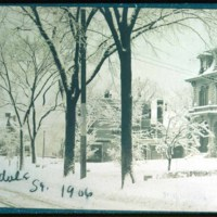 Cliftondale, Bond Home in winter