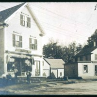 Cliftondale, Fisk Store & Post Office, Jackson Street, stood where new group are today