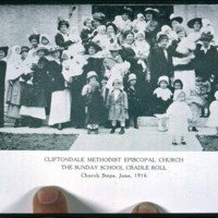 Cliftondale Methodist Episcopal Church, the Sunday School Cradle Roll