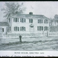 Bond home, Clittondale Square, 1693