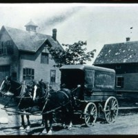 Doc Saugus, Ice Wagon on Parker Street