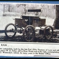 Early car made at G.E. Lynn, W.G. Fisher & Westindorf, days of Saugus