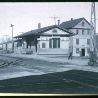 East Saugus, Railroad Station