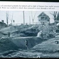 Excavating to rebuild the Saugus Iron Works