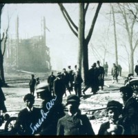 Fire, April 8, 1909, Frankling Park, Lincoln Ave
