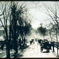 Fire, April 8, 1909, Lincoln Avenue & Clifton Avenue