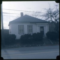 First Schoolhouse in North Saugus, as it looked 1974