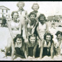 Hampton Beach, Saugus Girls 1936