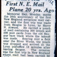 Harry Atwood flew the mail, may 30 june 1, 1912, 1912