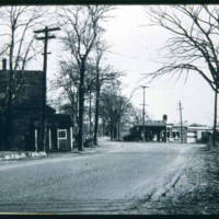 John Mullen's & Charley Rigmans Garage, Main Street & the Turnpike