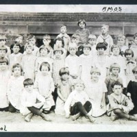 Main St, Roby School, Class 1923