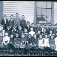 Mansfield School & children, East Saugus