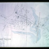 Map, East Saugus