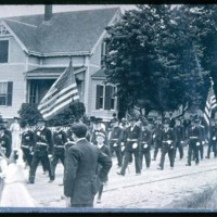 May 30 Parade coming down Winter Street, Saugus Center, G.A.R.