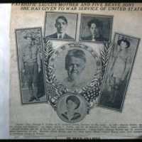 Mrs. George Hobbs Family, 5 Sons in War