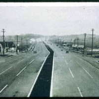 Newburyport Turnpike, from Essex Street end looking North, 1938